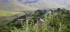 Giants Castle, Drakensbergen, Zuid-Afrika