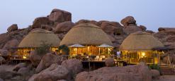 Camp Kipwe, Twijfelfontein, Namibië