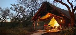 KwaMbili Game Lodge, Thornybush Game Reserve, Zuid-Afrika
