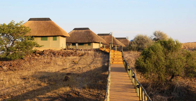Palmwag Lodge, Damaraland, Namibië