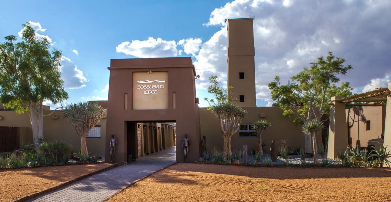 Sossusvlei Lodge, Namib Naukluft, Namibia