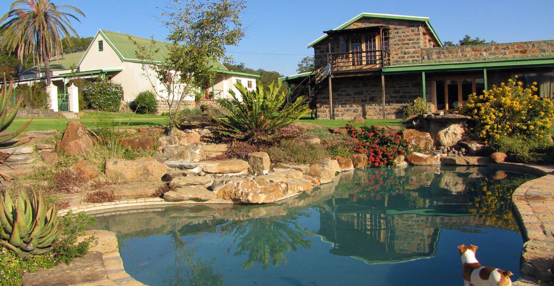 Spion Kop Lodge, Zuid-Afrika