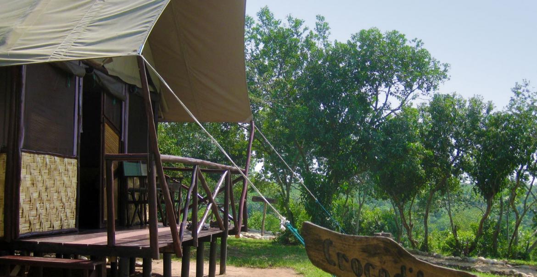 The Bush Lodge, Queen Elizabeth National Park, Uganda