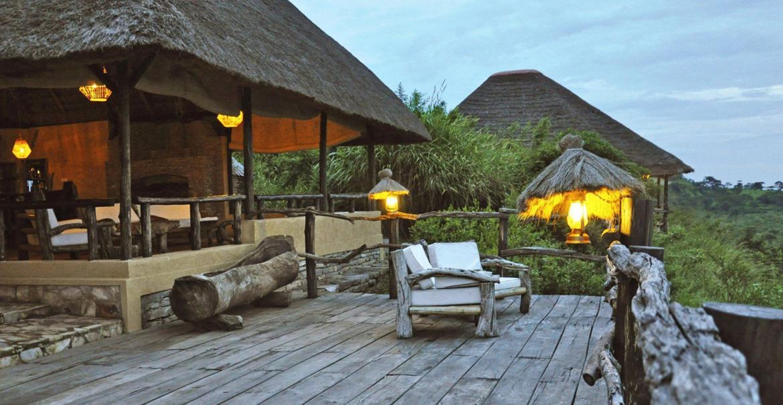 Mazike Valley Lodge, Queen Elizabeth National Park, Uganda