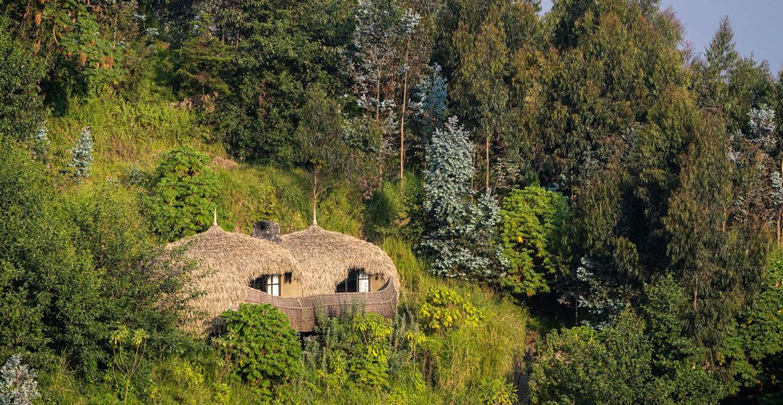 Bisate Lodge, Parc National des Volcans, Rwanda