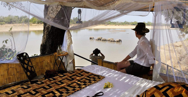 Unforgettable Zambia, 14-daagse luxe fly-in safari Zambia