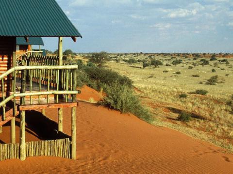 Bagatelle Kalahari Game Ranch, Namibië
