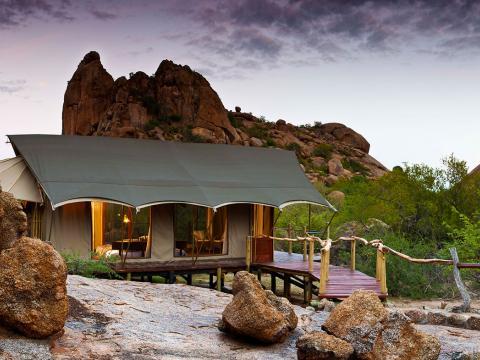 Erongo Wilderness Lodge, Omaruru, Damaraland, Namibië