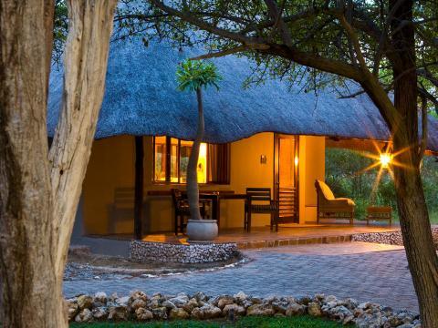 Mushara Lodge, Etosha, Namibië
