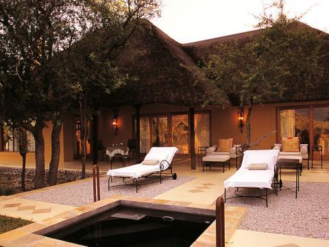 Villa Mushara, Etosha, Namibië