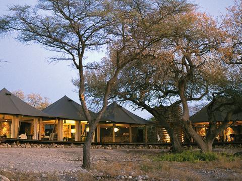 Onguma Tented Camp, Etosha, Namibia