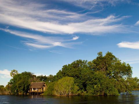 Sindabezi Island, Livingstone, Victoria Falls, Zambia