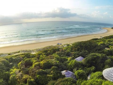Thonga Beach Lodge, Isimangaliso Wetlands, South Africa