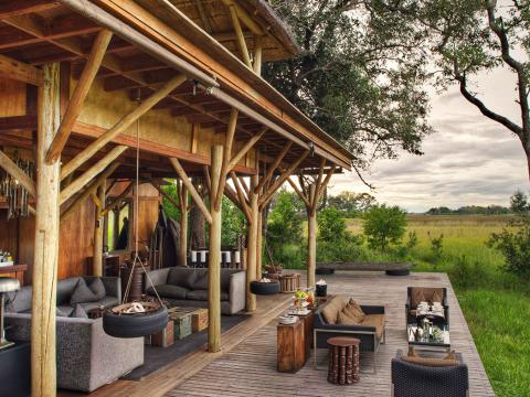 Xudum Okavango Delta Lodge, Bostwane