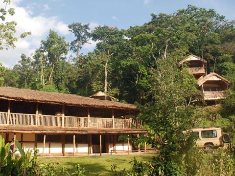 Buhoma Lodge, Bwindi, Uganda