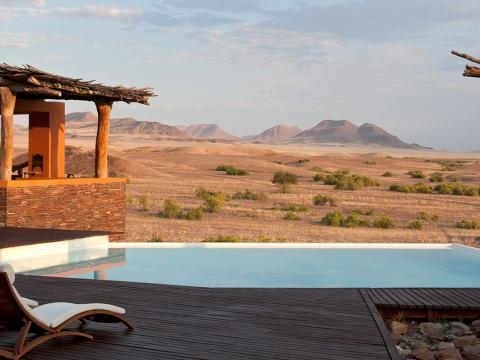 Okahirongo Elephant Lodge, Kaoko Region, Namibia