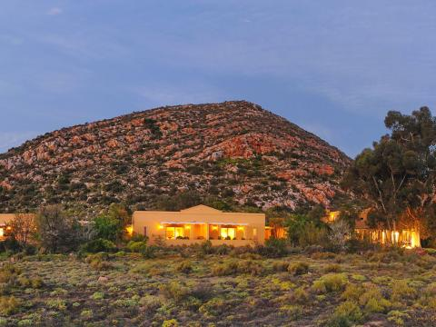 Tilney Manor, Sanbona Wildlife Reserve, South Africa