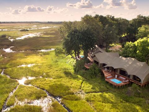 Duba Plains Camp, Okavango, Botswana