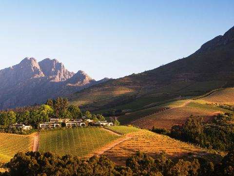 Delaire Graff Estate, Stellenbosch, South Africa