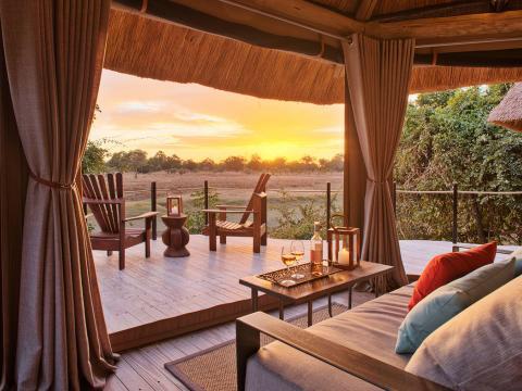 Lion Camp, South Luangwa, Zambia