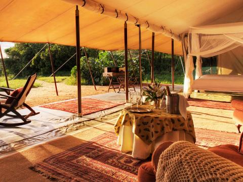 Cottar's Safari Camp, Masai Mara, Kenia