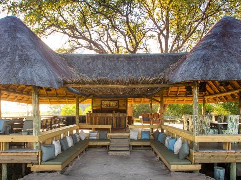 The Jackal & Hide, Khwai, Okavango Delta, Botswana