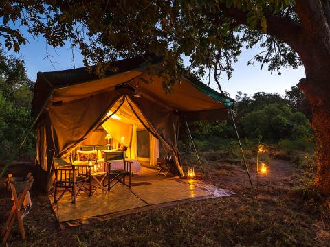 John's Camp, Mana Pools, Zimbabwe