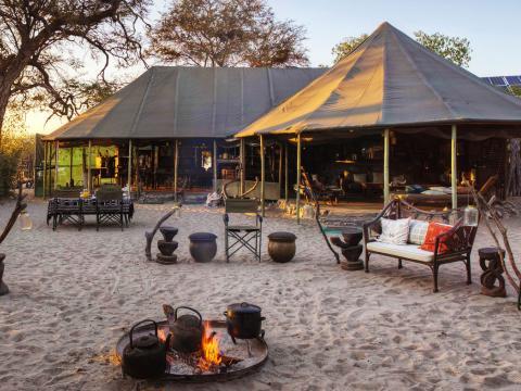 Meno A Kwena, Magadikgadi, Botswana