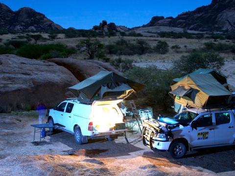 Namibia & Botswana Adventure, 21-daagse self drive Namibië & Botswana